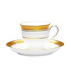Noritake® Crestwood Gold After Dinner Cup and Saucer