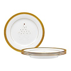 Noritake® Crestwood Gold Holiday Accent Plate (Set of 4)