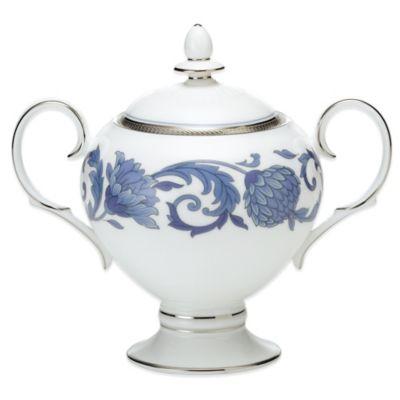 Noritake® Sonnet in Blue Covered Sugar Bowl