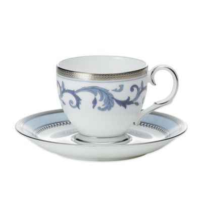 Noritake® Sonnet in Blue After Dinner Cup and Saucer