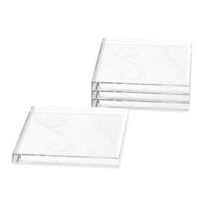 Noritake® Platinum Wave Coasters (Set of 4)