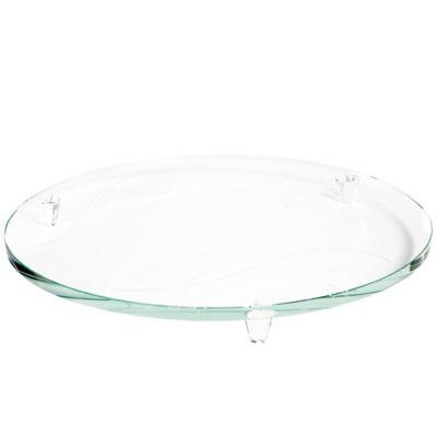 Noritake® Platinum Wave Cake Plate