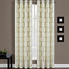 Portinari Grommet Top Window Curtain Panel Bed Bath Amp Beyond