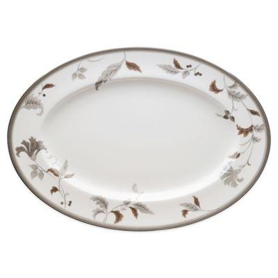 Noritake® Islay Platinum 16-Inch Oval Platter