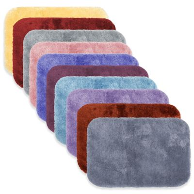 Wamsutta® Duet 20-Inch x 34-Inch Bath Rug in Denim