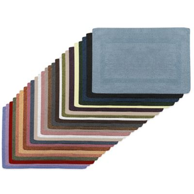 Wamsutta® Reversible 24-Inch x 40-Inch Bath Rug in Saddle