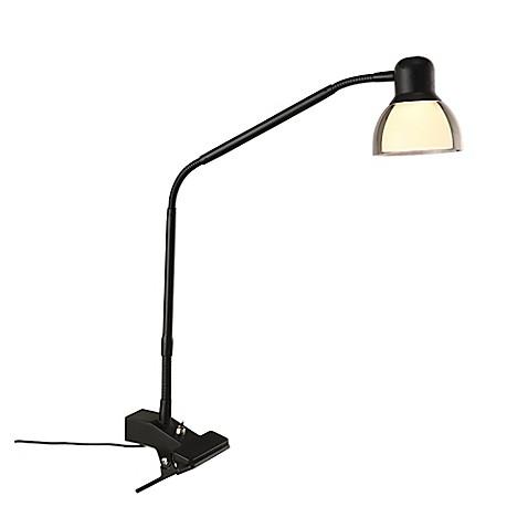 buy studio 3b functional led clip lamp in matte black. Black Bedroom Furniture Sets. Home Design Ideas