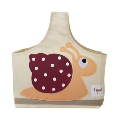 3 Sprouts Caddy Tote in Snail