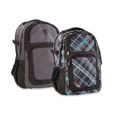 Heys® Transit™ Laptop Backpack in Grey/Black
