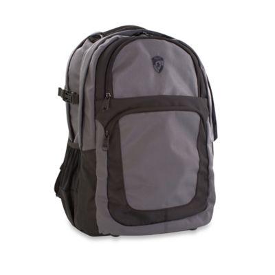 Heys® Transit™ Laptop Backpack in Grey/Black