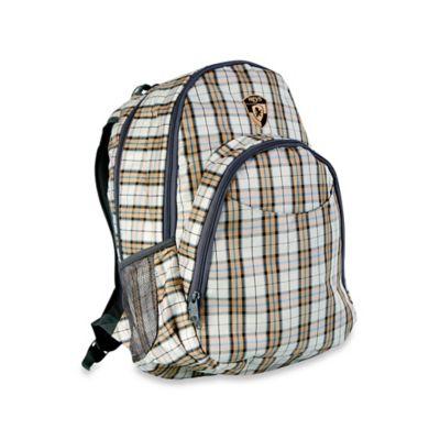 Heys® Atmosphere™ Laptop Backpack in Brown Plaid