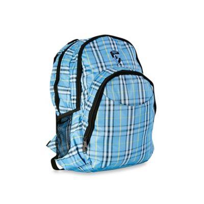 Heys® Atmosphere™ Laptop Backpack in Blue Plaid