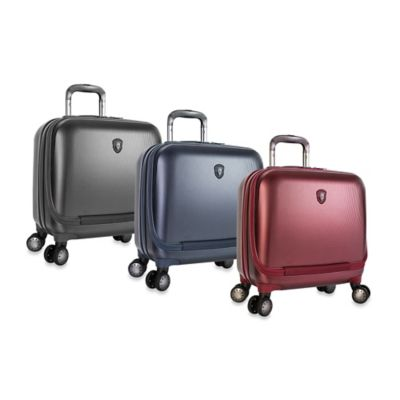 Heys® Portal 8-Wheel Spinner SmartBusiness Case™ in Burgundy