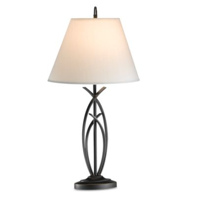 Curve Bronze Table Lamp With CFL Bulb