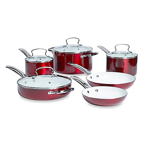 Buy Denmark 174 10 Piece Ceramic Nonstick Aluminum Cookware