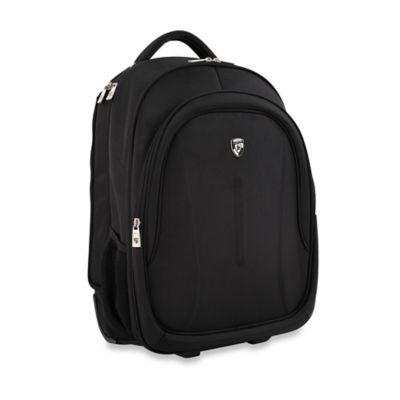 Heys® Axiom™ Rolling Backpack in Black