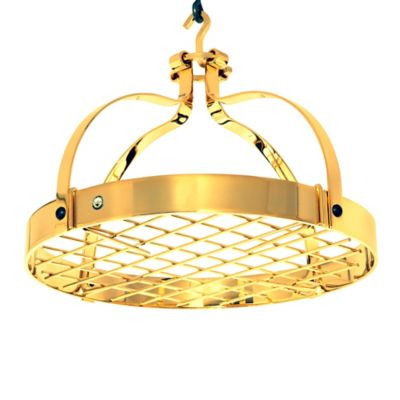 Enclume® Dutch Crown Rack with Grid in Gold