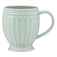 Lenox® French Perle Groove Mug in Ice Blue