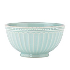 Lenox® French Perle Groove All Purpose Bowl in Ice Blue