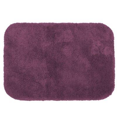 Wamsutta® Duet 20-Inch x 34-Inch Bath Rug in Raspberry