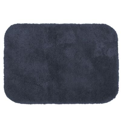 Wamsutta® Duet 17-Inch x 24-Inch Bath Rug in Denim