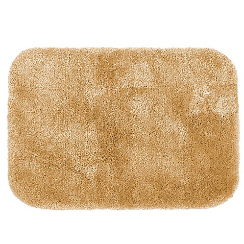 buy wamsutta 174 duet 20 inch x 34 inch bath rug in gold from bed bath beyond