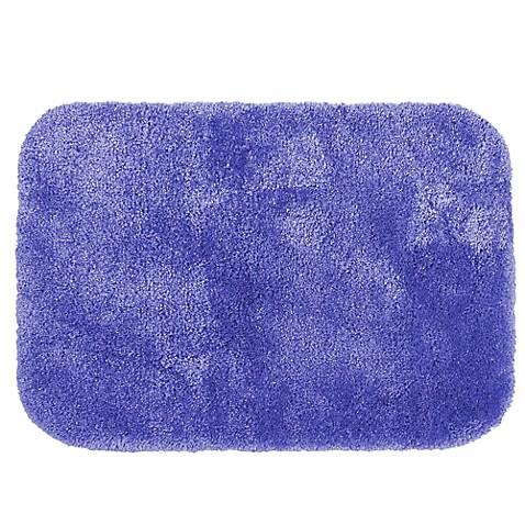 Buy Wamsutta Duet 20 Inch X 34 Inch Bath Rug In Periwinkle From Bed Bath Beyond