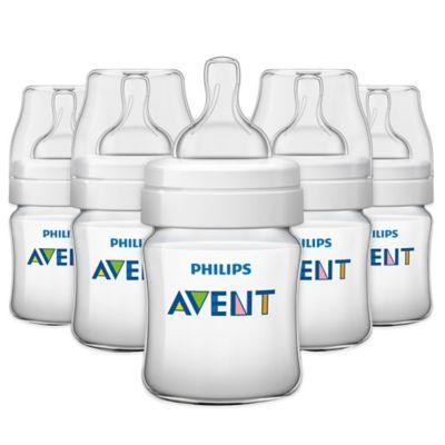 AVENT Classic+ 5-Pack 4 oz. Bottles