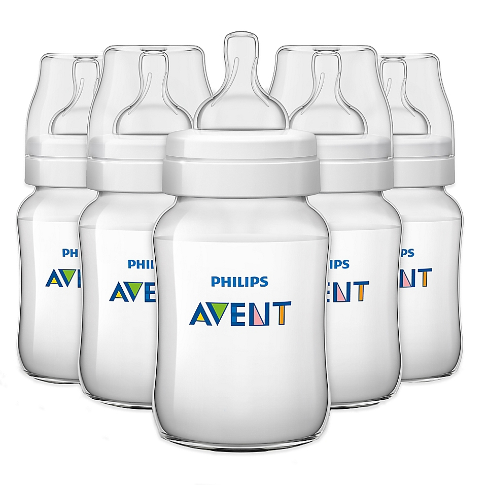 AVENT Classic+ 5-Pack 9 oz. Bottles - buybuyBaby.com