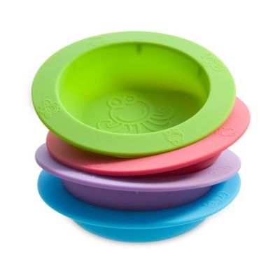 oogaa® 9 oz. Silicone Bowl in Pink