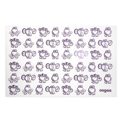 oogaa® Reusable Silicone Placemat in Purple