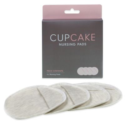 Cake Lingerie CupCake 4-Count Washable Nursing Pads