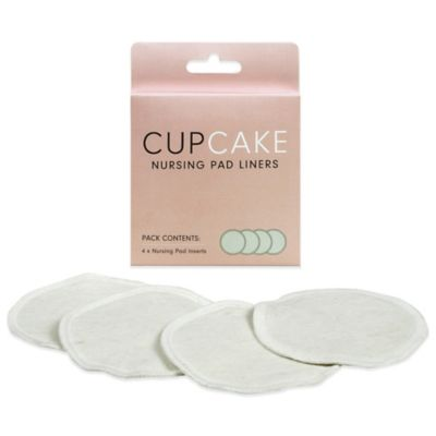 Cake Lingerie CupCake 4-Count Washable Nursing Pad Liners