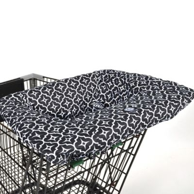 Balboa Baby® Shopping Cart and High Chair Cover in Black Lattice