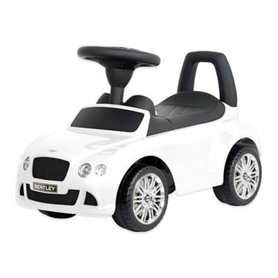 Licensed Bentley Continental GT Push Car in White