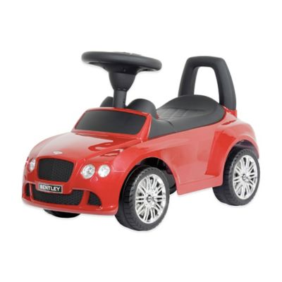 Licensed Bentley Continental GT Push Car in Red