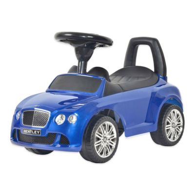 Licensed Bentley Continental GT Push Car in Blue