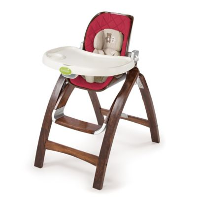 Summer Infant® Bentwood High Chair in Cranberry