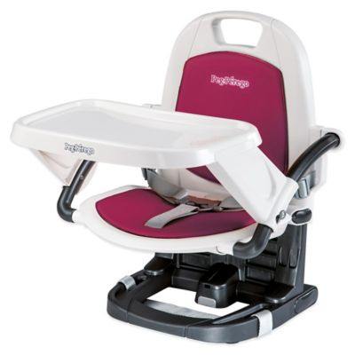 High Chairs > Peg Perego Rialto Booster Chair in Berry