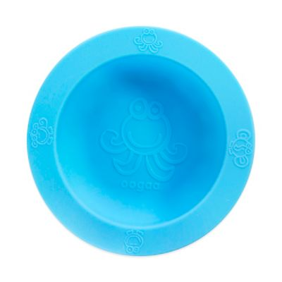 Blue Silicone Bowls