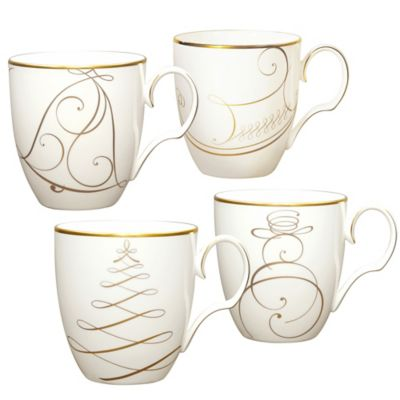 Noritake Holiday Mugs