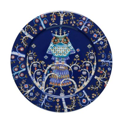 Iittala Taika 10.5-Inch Dinner Plate in Blue