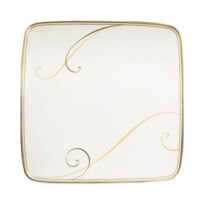 Golden Wave Accent Plate