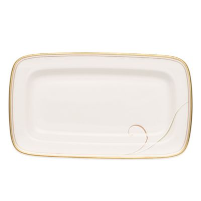 Noritake® Golden Wave Butter Tray
