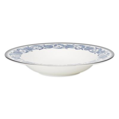 Noritake Blue Rim Soup Bowl