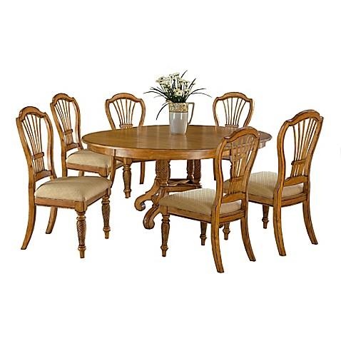 Hillsdale Wilshire 7-Piece Round Dining Set