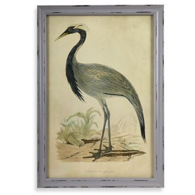 Crane 1 Wall Plaque