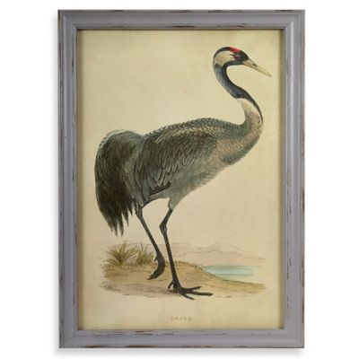 Crane 2 Wall Plaque