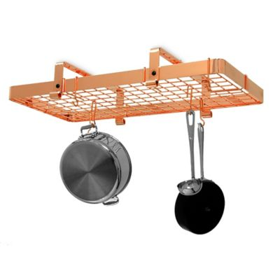 Enclume® Low Ceiling Rectangle Rack with Grid in Copper