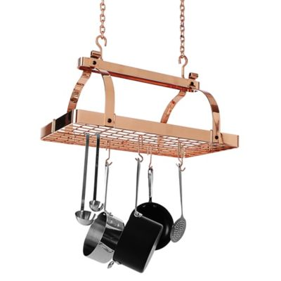 Enclume® Classic Rectangle Rack without Bar with Grid in Copper